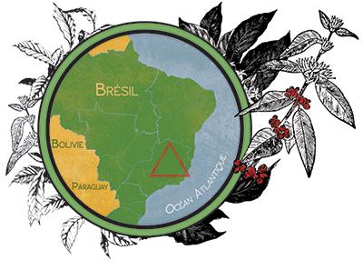 Carte Brésil GramGram Café